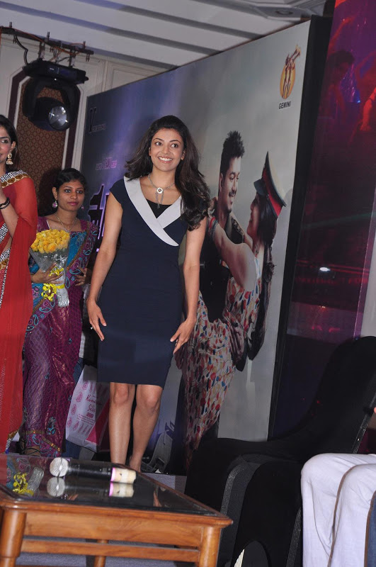 Kajal Agarwal Hot Photos At Thuppakki Audio Launch