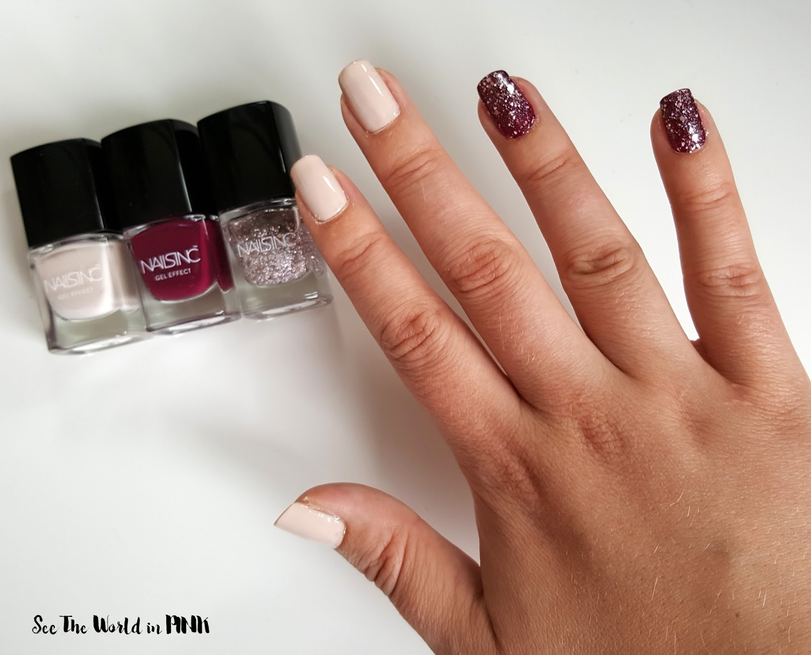 Manicure Tuesday - Nails Inc. The Holiday Edit 3 Piece Mini Set