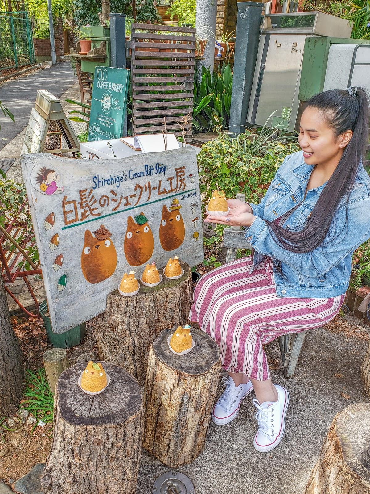 factory tokyo ootd jumper studio ghibli