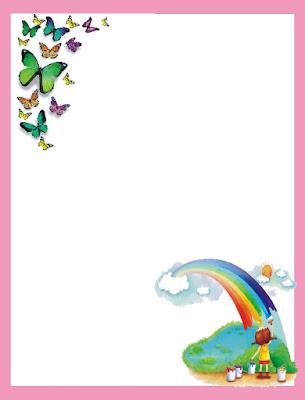 bordes animados, bordes animados bonitos, bordes para decorar libreta de planes, bordes infantiles animados
