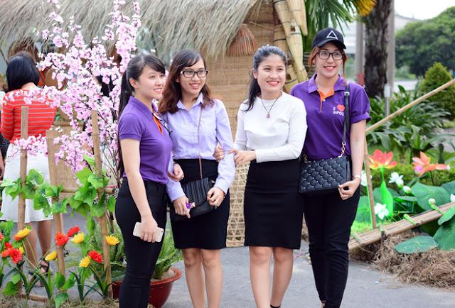 Cán Bộ CNV FPT Hồ Chí Minh Nô Nức Tham Gia Hội Làng 10