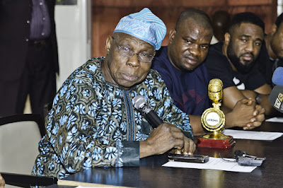 Obasanjo pledges support for AFRIMA 3.0 ...says AFRIMA IS A UNIFIER IN AFRICA