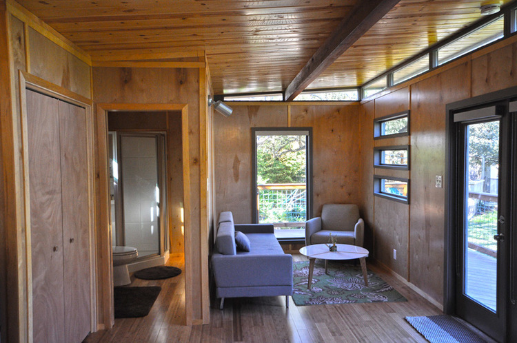 Tiny Home Designs: TINY HOUSE TOWN: 14' X 24' Modern Modular Cabin