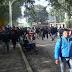 Trabajadores azucareros de El Tabacal se manifiestan en la ruta 50