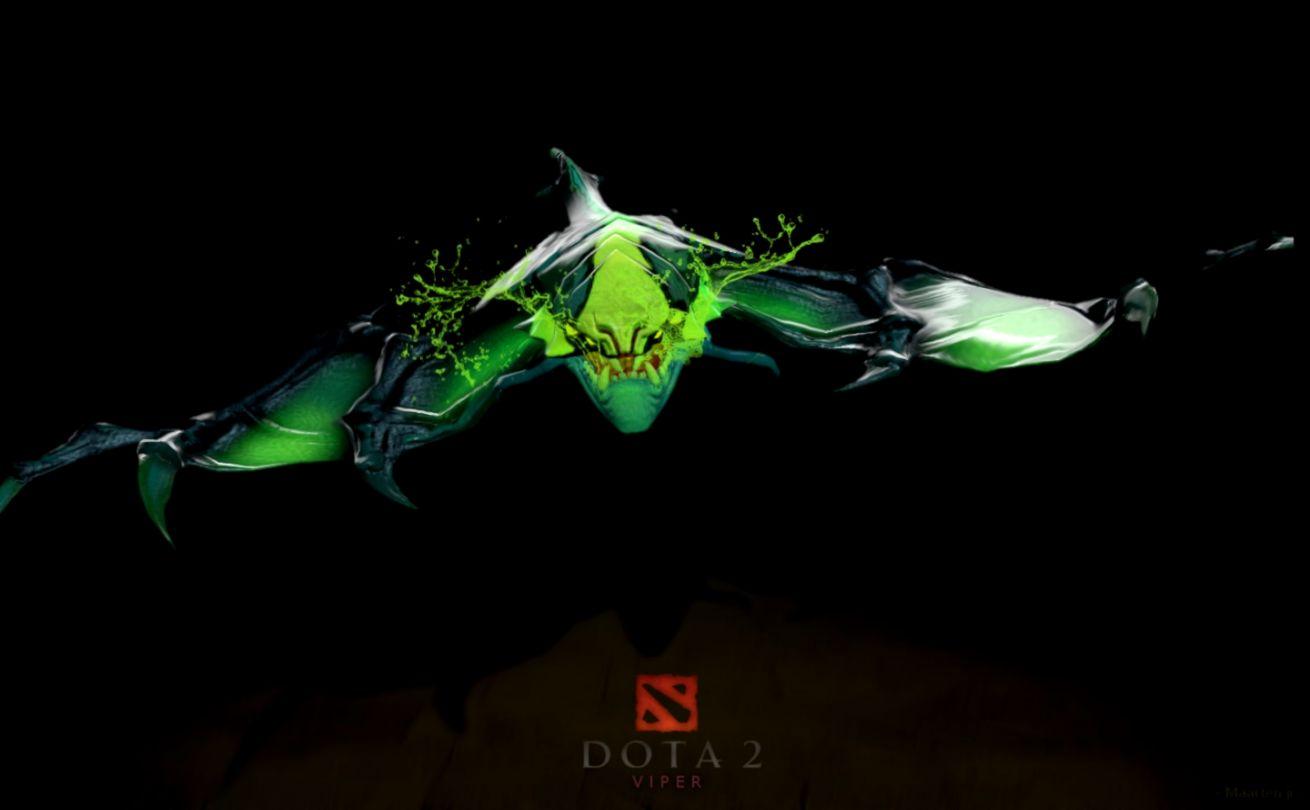 Dota2 Viper HD Desktop Wallpapers