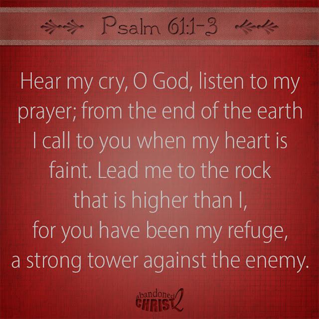 #PsalmSunday: Psalm 61