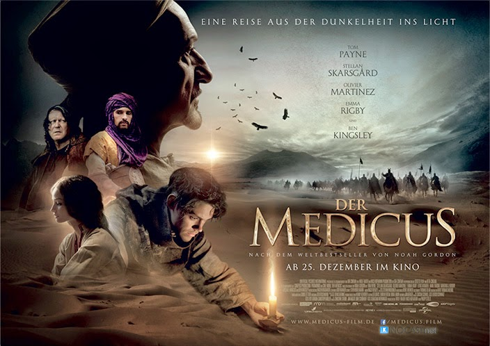 Samar 2013 Movie Poster: Chrichton's World: Review The Physician A.k.a. Der Medicus