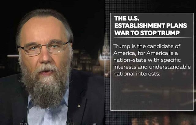 Elogio de Trump enquanto candidato pragmático como Putin