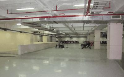 hệ thống ống gió tầng hầm