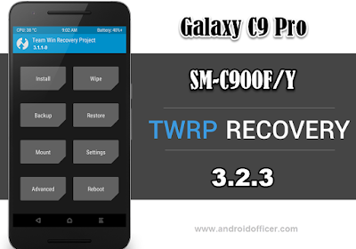 TWRP Recovery for Galaxy C9Pro SM-C900FY