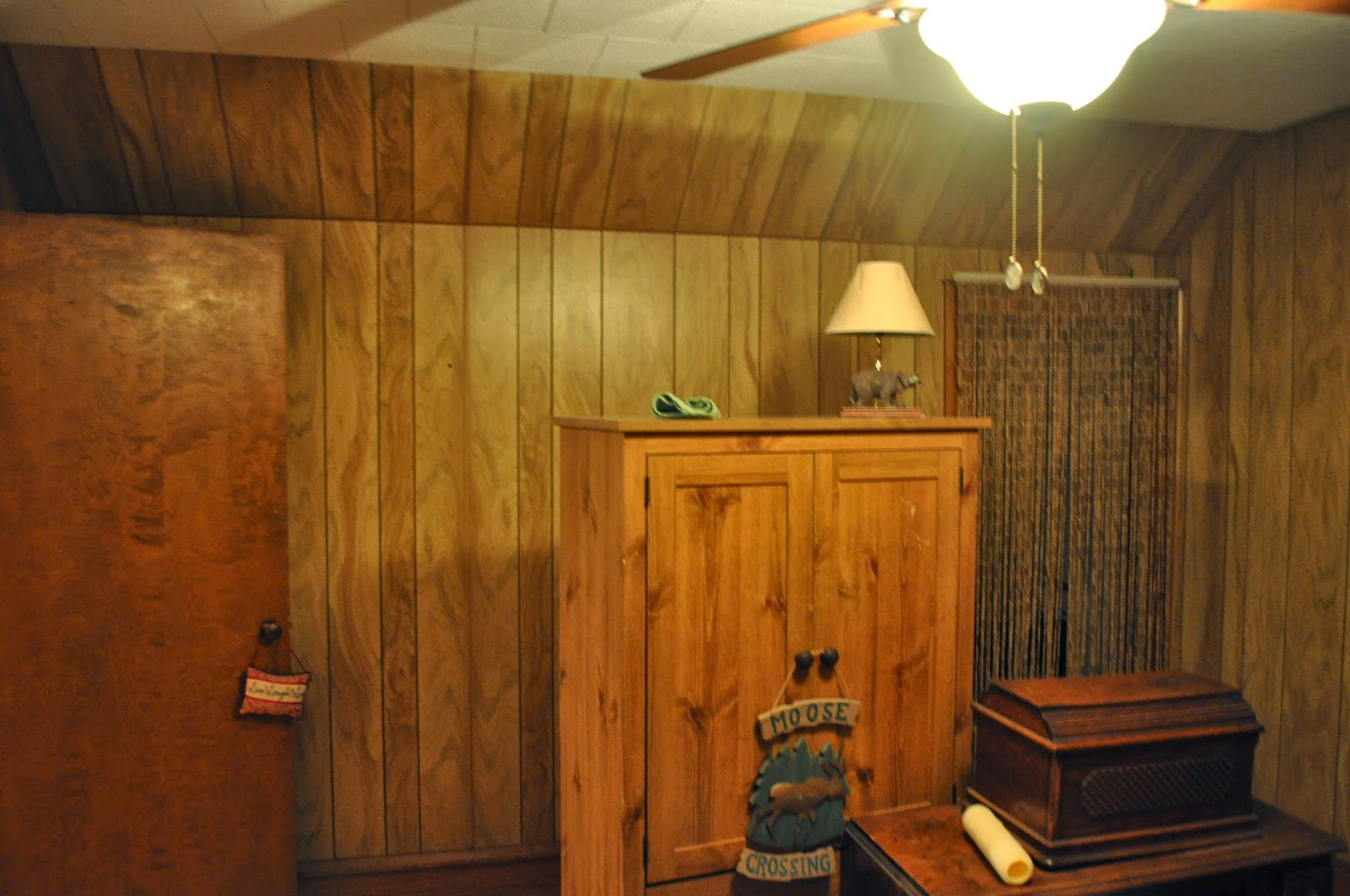 Bedroom Paneling Carri Us Home Painting Panneling And A Bedroom Redo