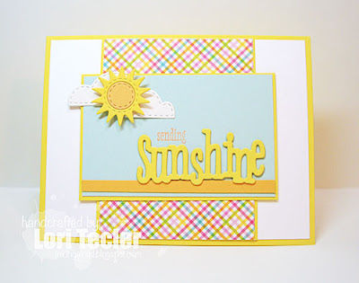Sending Sunshine card-designed by Lori Tecler/Inking Aloud stamps and dies from WPlus9