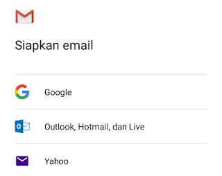siapkan email google