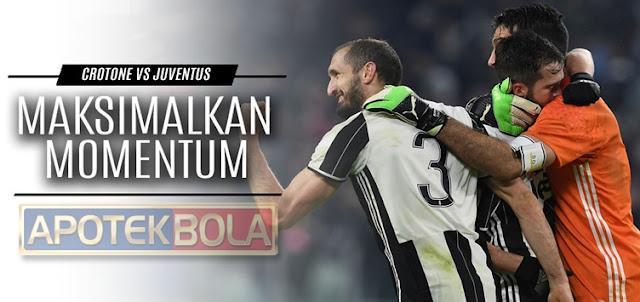Prediksi Pertandingan Crotone vs Juventus 9 Februari 2017 Liga Italia Serie A
