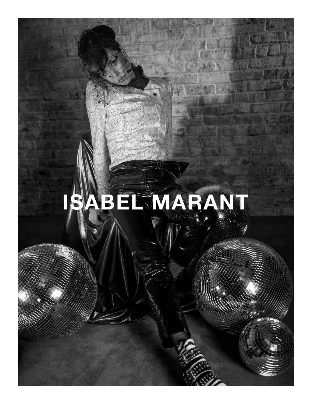 Edie Campbell for Isabel Marant Autumn/Winter 2016 Campaign