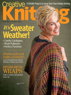 Autumn issue of Creative Knitting Download Creative Knitting for Fall filled with Knitting patterns