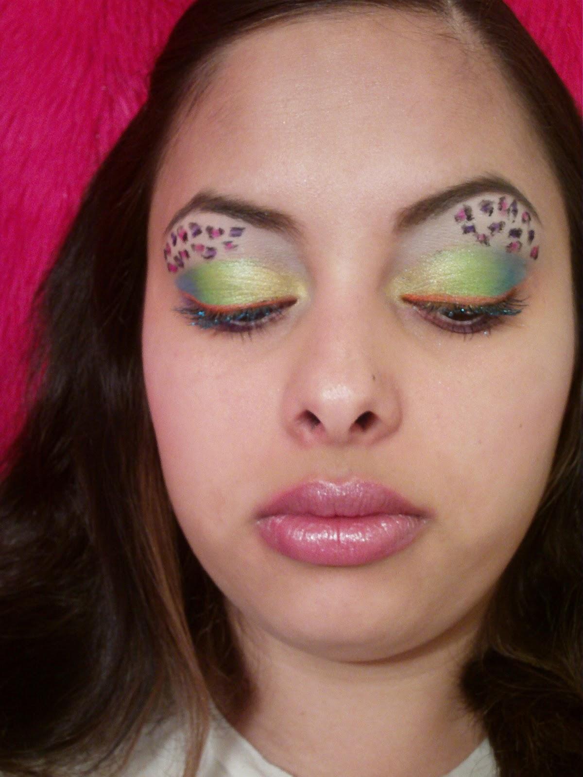 MsDivinemakeup's Beauty Blog: Lisa Frank Makeup Contest