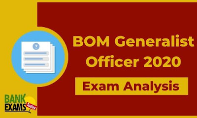 BOM Generalist Officer 2020: Exam Analysis