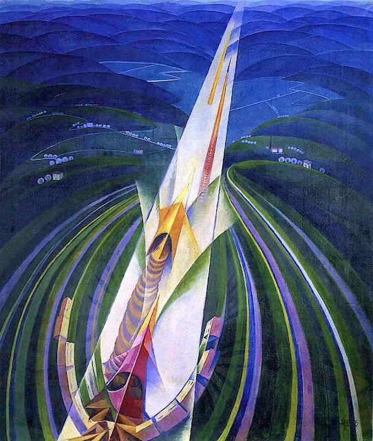 Gerardo Dottori art 1926 futurism