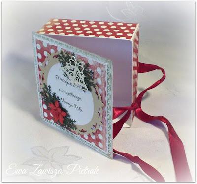 Pudełko na Boże Narodzenie wnętrze