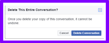 How to Delete Facebook Messages