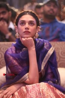 Aditi Rao Hydari Stills in Lehenga Choli at Cheliyaa Telugu Movie Audio Launch Event  0049.JPG