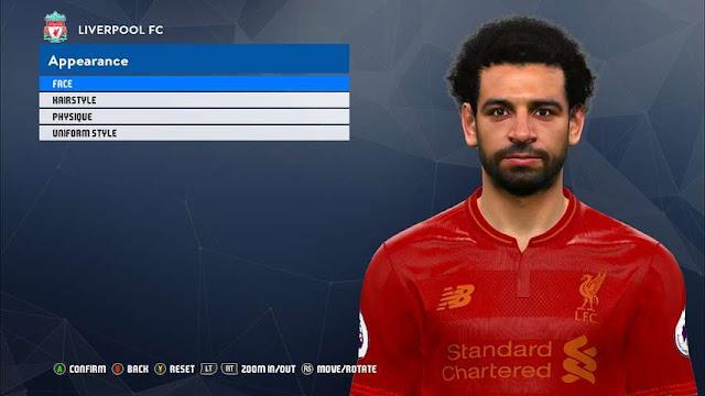 New Face Mohamed Salah PES 2017