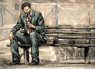 sentar na graxa, banco, levar a pior, keanu reeves, sad keanu