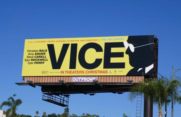 Vice film billboard