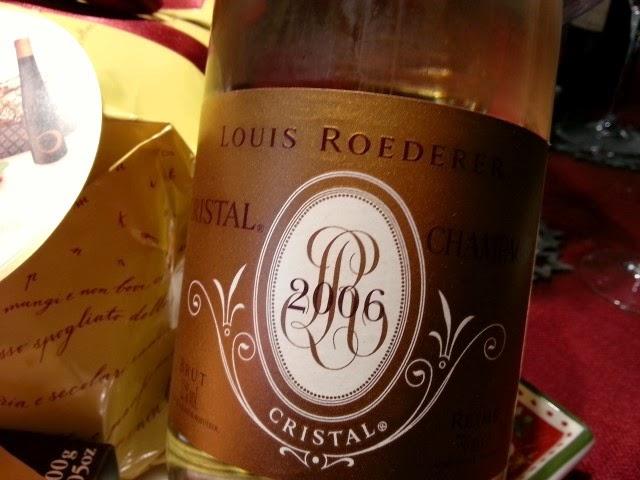 Champagne Cristal  Louis Rœderer 2006