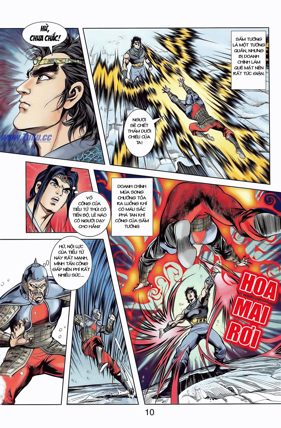 Tần Vương Doanh Chính chapter 9 trang 13