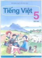 Sách Giáo Khoa Tiếng Việt 5 Tập 2
