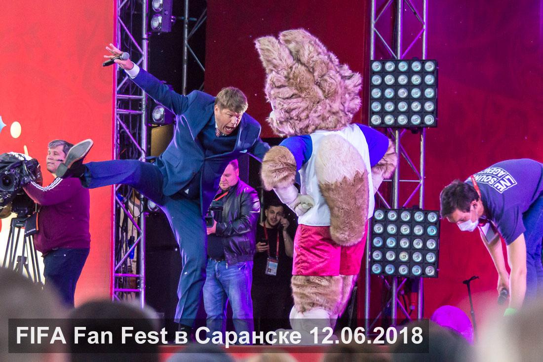 FIFA Fan Fest в Саранске 12.06.2018