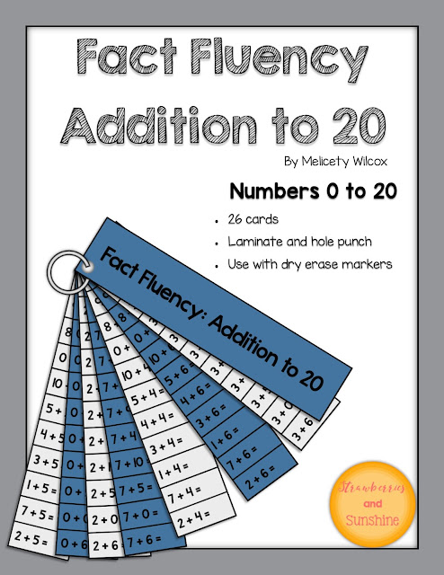 Math Fact Fluency Addition