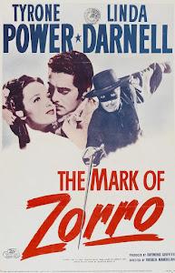 The Mark of Zorro Poster