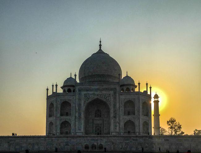 Sun and Taj