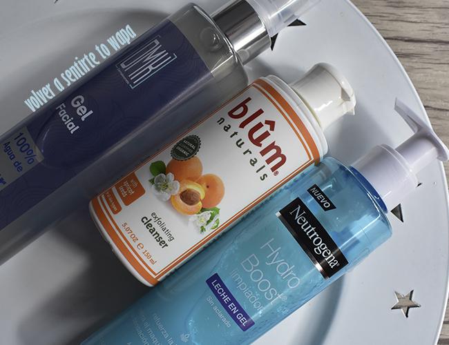 Rutina facial: limpiadores y desmaquillantes de Dermakosmetic, Blûm Naturals y Neutrogena