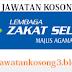 Jawatan Kosong Lembaga Zakat Selangor 14 Oktober 2018