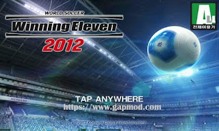 Winning Eleven 2012 Mod WE16 Update Apk