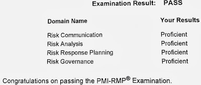PMI Risk Management Professioanl (PMI-RMP) Examination Report
