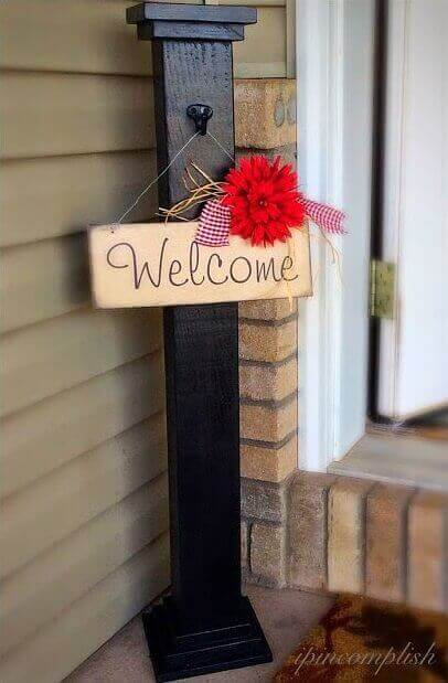 Welcome, Post and Sign
