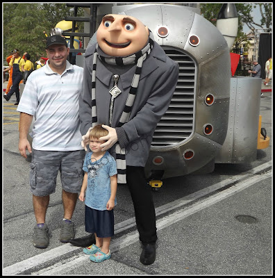 son with Despicable Me