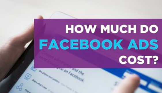 Facebook advertising Costs