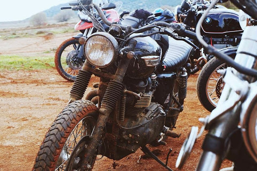 scramblertt: Fun times. Have a muddy week! | Cafe Racer Greece