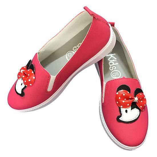 Giày Lười Bé Gái Chuột Mickey