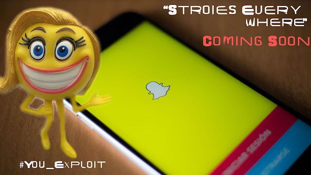 "Snapchat Users, ""Stories Everwhere"" Will be hitting the platform soon."