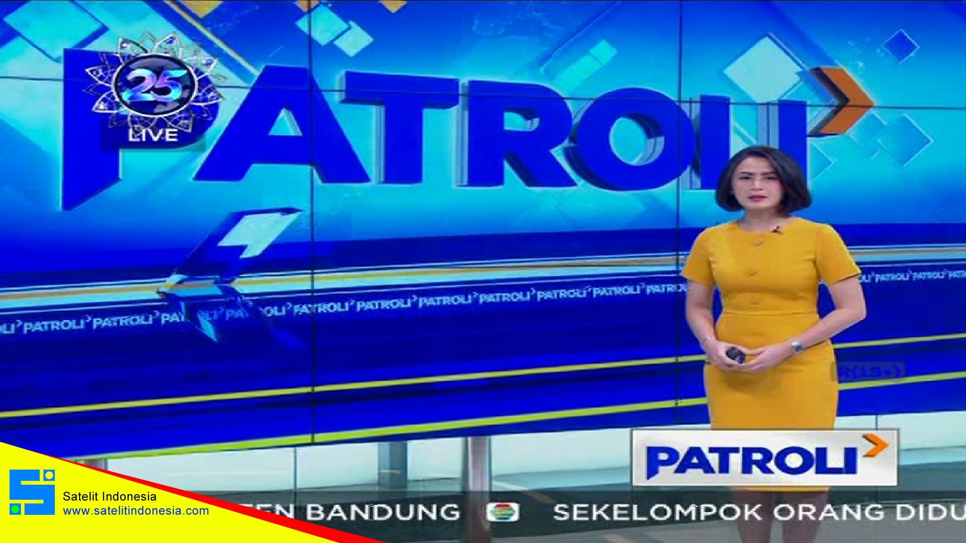 Frekuensi siaran Indosiar di satelit Palapa D Terbaru