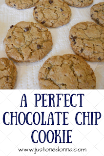 The Perfect Chocolate Chip Cookie is Yummy