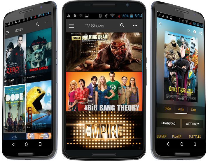 best hd movie app android