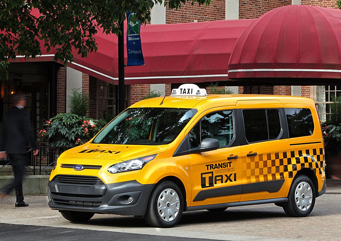 Revista EL REMOLQUE: EE.UU.: Ford Transit Connect Taxi